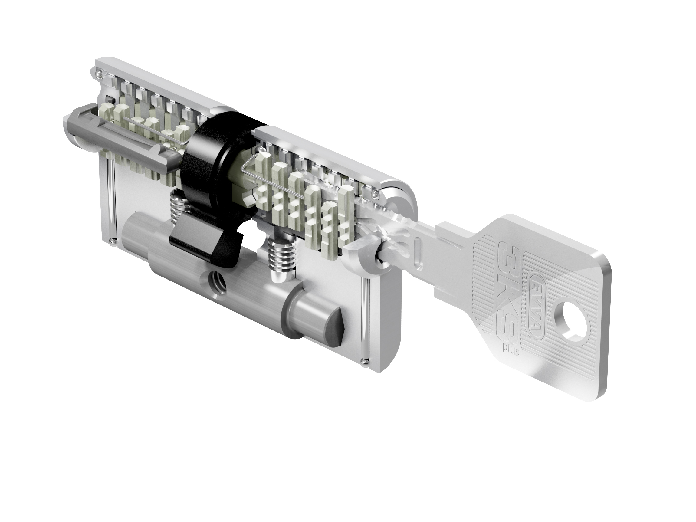 Цилиндр Evva 3KS L122 - Evva-locks.ru