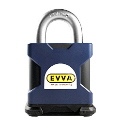 Навесной замок EVVA/SQUIRE 3KS SS65S (дужка 65 мм) - Evva-locks.ru